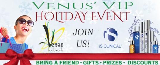 Venus VIP Holiday Event