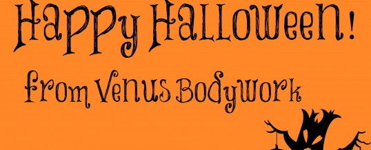 Venus Bodywork's Halloween Selfie Contest Starts Today!